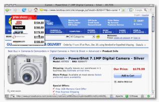 Price Advance - Firefox Extension