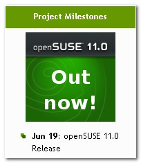 openSUSE 11.0 Released