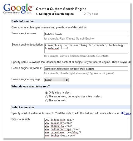 K\'s Tech Search Engine