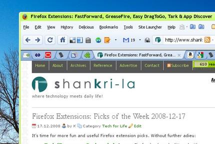 Chromifox Firefox theme