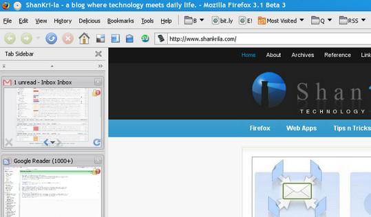 Camifox Firefox Theme