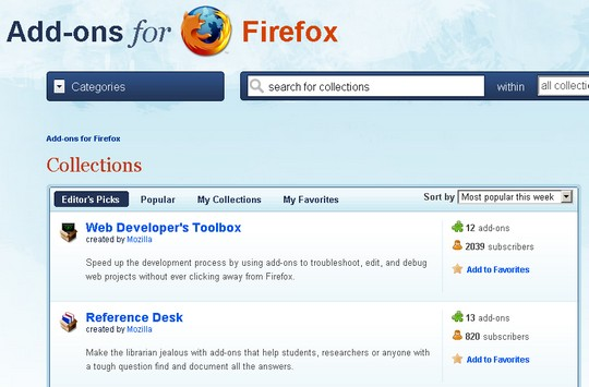 firefox-collections