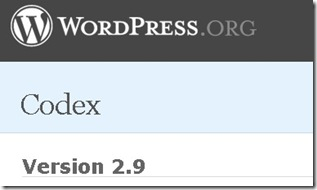 wordpress-2.9