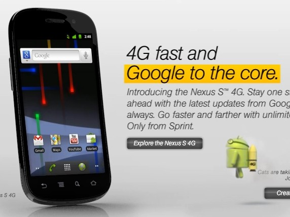 Samsung Nexus S 4G Google Android Phone
