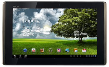 ASUS EEE Pad Android Tablet